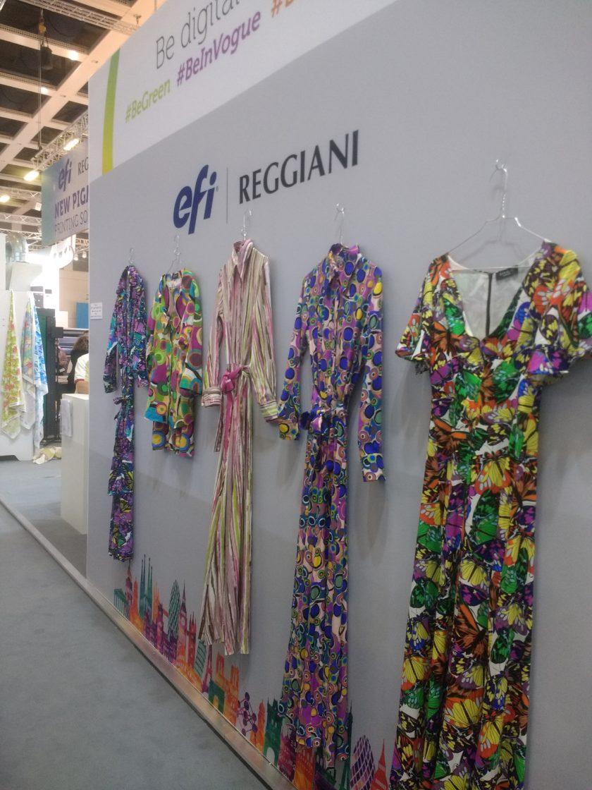 Текстильная история на выставке FESPA