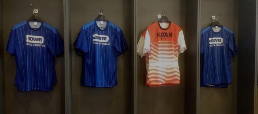 Фабрика по выпуску спортивной одежды на выставке FESPA – Sports Factory от Dover Digital Printing